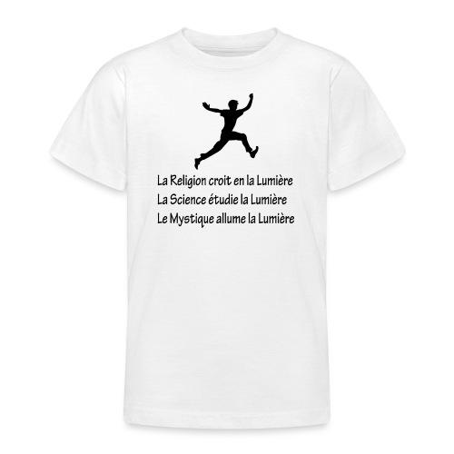 Lumière Religion Science Mystique - T-shirt Ado