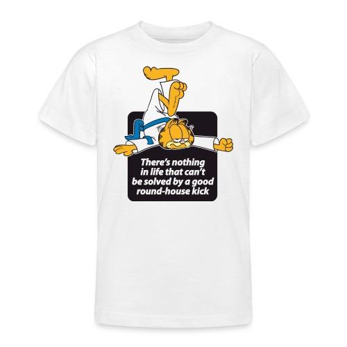 Garfield Round House Kick - Teenager T-Shirt