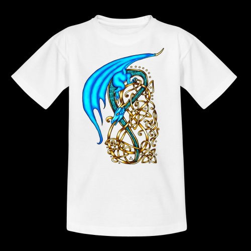 Celtic Dragon - Teenage T-Shirt