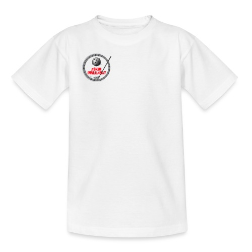 Logo Askim Innebandy - T-skjorte for tenåringer