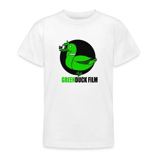 Greenduck Film Logo w. black letters - Teenager-T-shirt