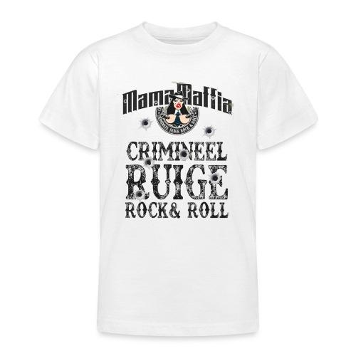 Crimineel Ruige Rock & & Roll Shirt - Teenager T-shirt