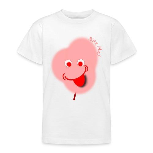 Candy Floss Bite Me - Teenage T-Shirt