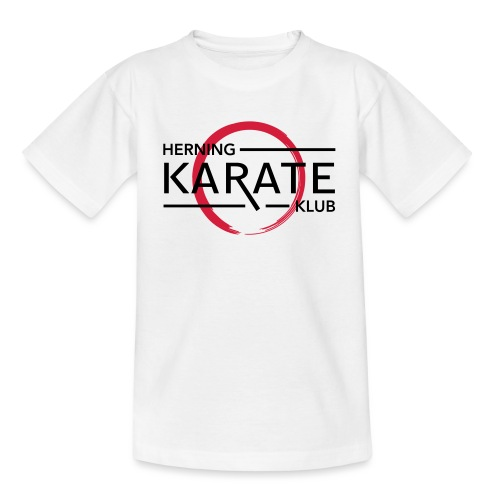 HKK Sort - Teenager-T-shirt