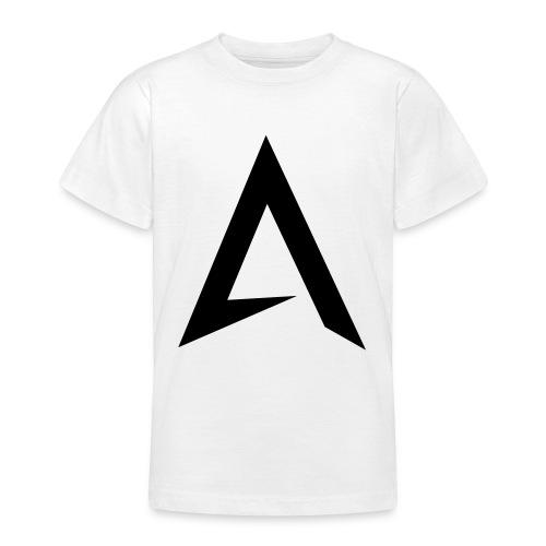alpharock A logo - Teenage T-Shirt