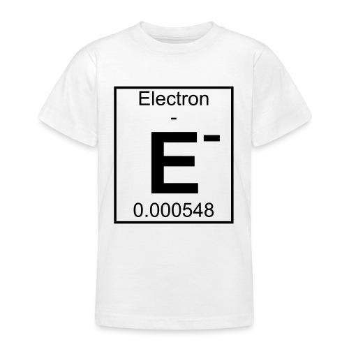 E (electron) - pfll - Teenage T-Shirt
