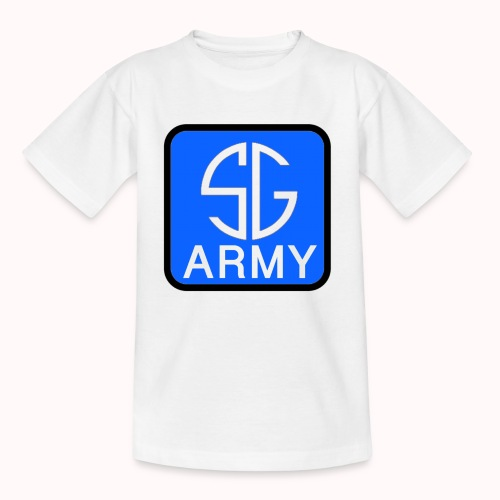 SemGamerArmy logo in box - Teenager T-shirt