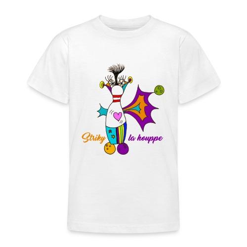 Striky la houppe - T-shirt Ado