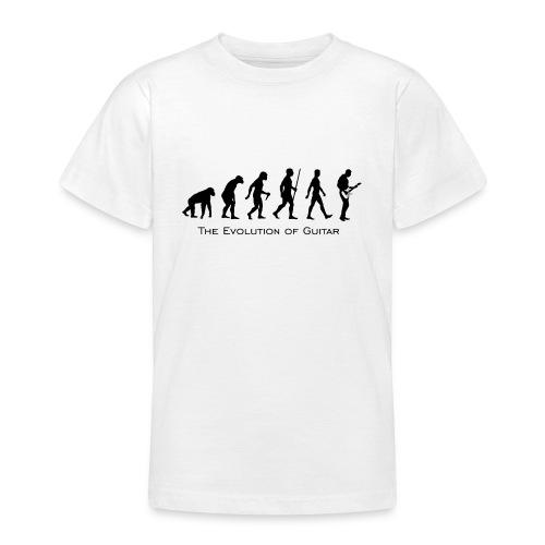 The Evolution Of Guitar - Camiseta adolescente