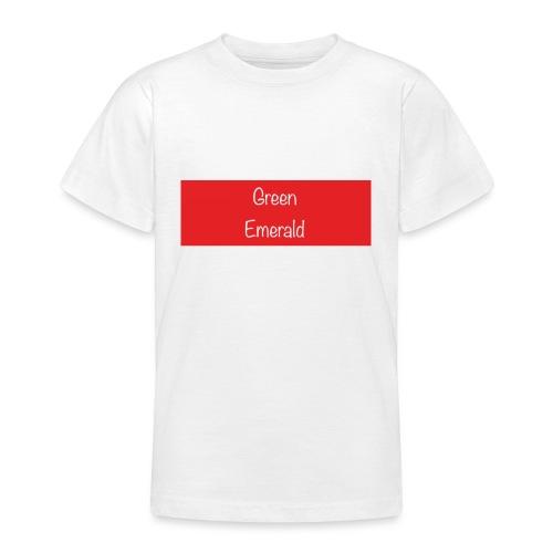 Green Emerald suprememe - Teenage T-Shirt