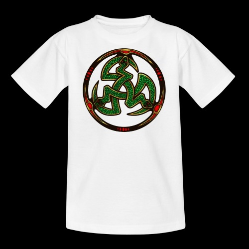 Serpent Triskellion - Teenage T-Shirt