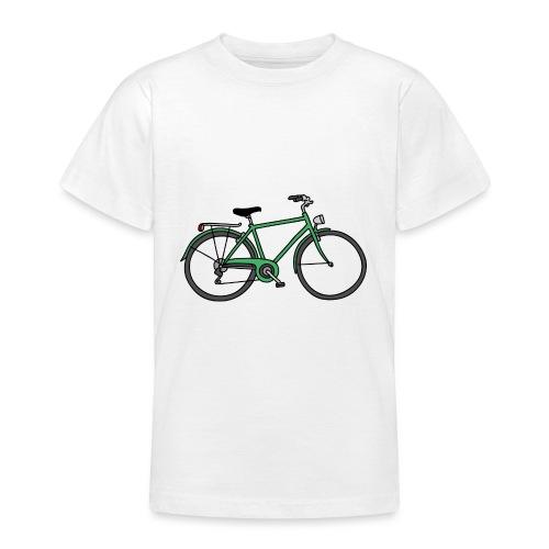Grünes Fahrrad Bike - Teenager T-Shirt
