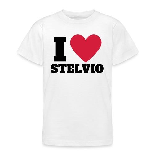 I LOVE STELVIO - Maglietta per ragazzi