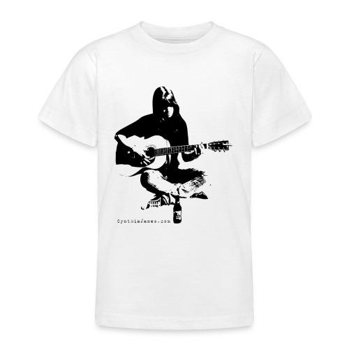 Cynthia Janes guitar BLACK - Teenage T-Shirt