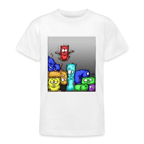 hamstris_farbe - Teenager T-Shirt