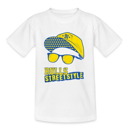 Bulls Streetstyle Yellow - Teenager T-Shirt