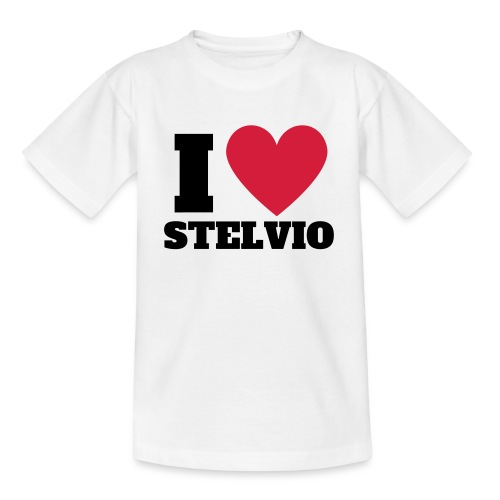 Ich liebe Stelvio - Teenager T-Shirt