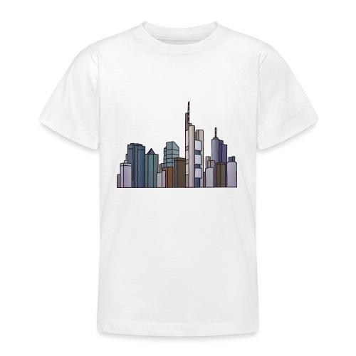 Frankfurt Skyline c - Teenager T-Shirt