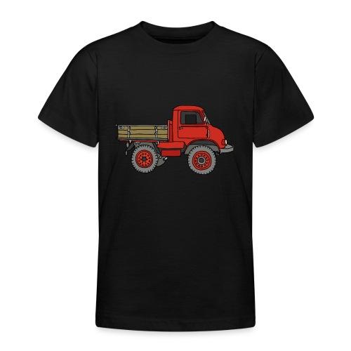 Roter Lastwagen, LKW, Laster - Teenager T-Shirt