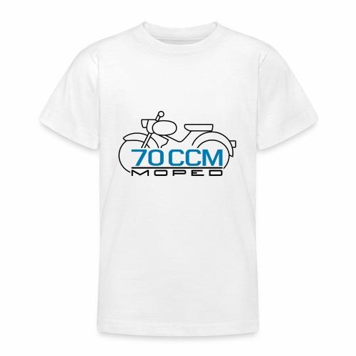 Moped sparrow 70 cc emblem - Teenage T-Shirt