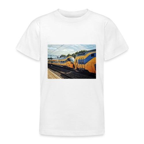 Nieuwe Intercity gesleept door Weesp - Teenager T-shirt