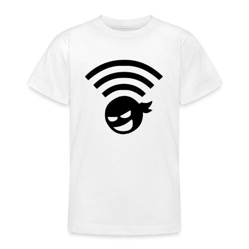WiFi Wlan Ninja Symbol - Teenager T-Shirt
