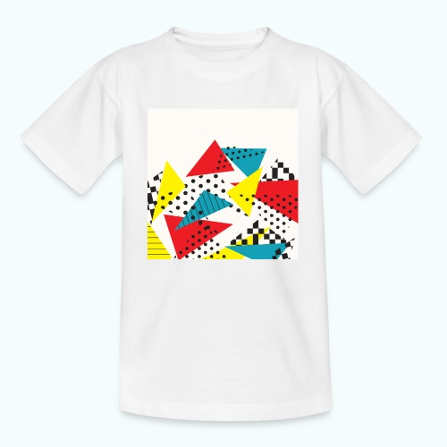 Abstract vintage collage - Teenage T-Shirt