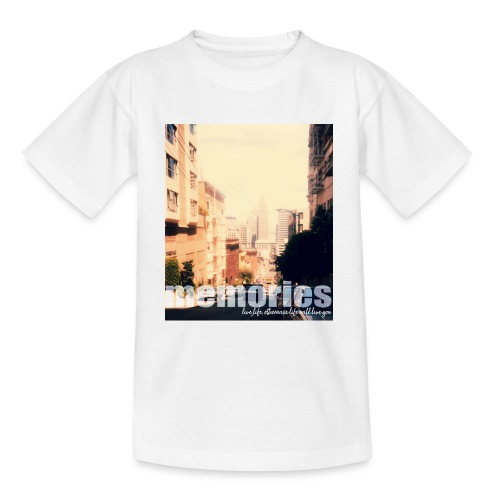 MEMORIES of SAN FRANCISCO - Teenager T-Shirt