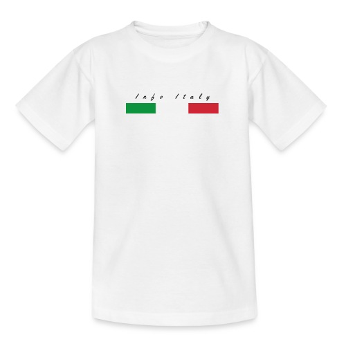 Info Italy Design - Maglietta per ragazzi