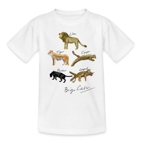 Cats - Teenage T-Shirt