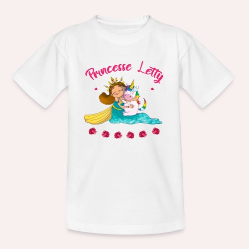 Princesse Letty - T-shirt Ado