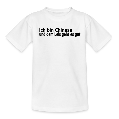 chinese China Reis - Teenager T-Shirt