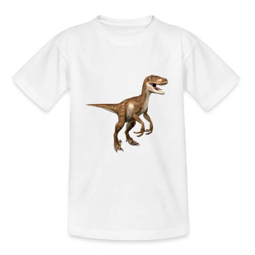 Raptor Dinosaur - Teenage T-Shirt