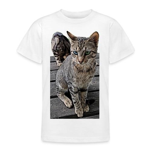 Katzenaugen - Teenager T-Shirt
