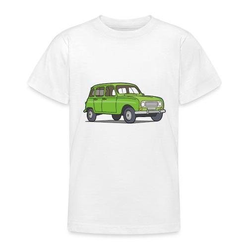 Grüner R4 (Auto) - Teenager T-Shirt