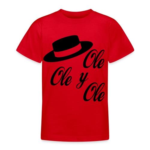 Ole,Ole y Ole (Hombre) - Camiseta adolescente
