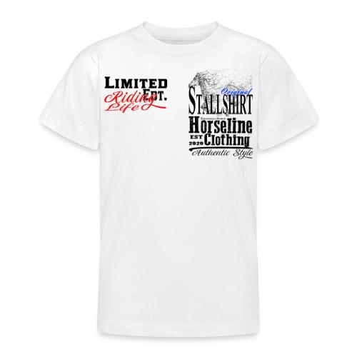 Limited Edition Stallshirt Pferde Reiten - Teenager T-Shirt