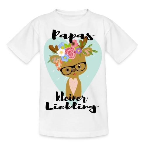 PAPAS KLEINER LIEBLING - Teenager T-Shirt