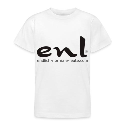 neuesdrucklogo2 - Teenager T-Shirt