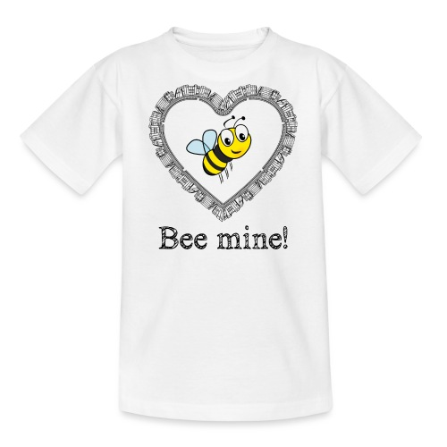 Bees3-2 save the bees | bee mine! - Teenage T-Shirt