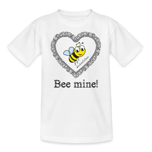 Bees3-1 save the bees | bee mine! - Teenage T-Shirt