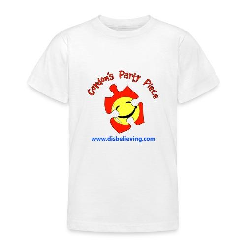 Party Piece Logo - Teenage T-Shirt