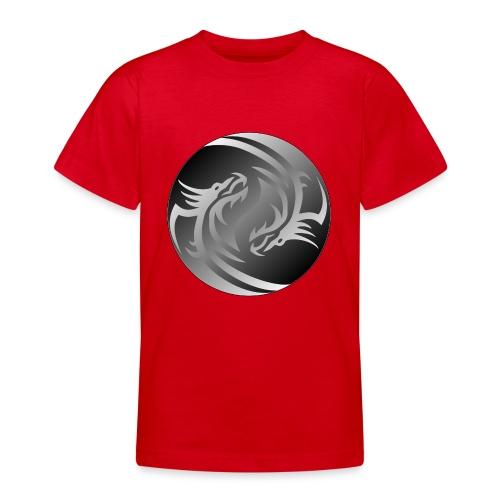 Yin Yang Dragon - Teenage T-Shirt