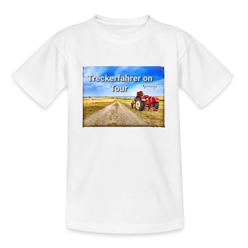 Treckerfahrer on Tour - Teenager T-Shirt