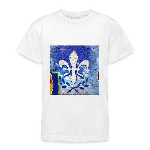 Graffiti Lilie - Teenager T-Shirt