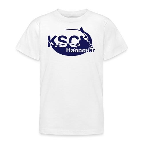 KSC Logo einfarbig - Teenager T-Shirt