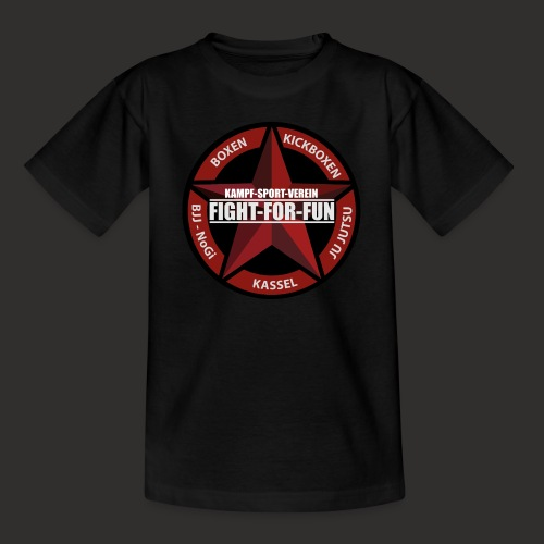 Logo Rot - Teenager T-Shirt