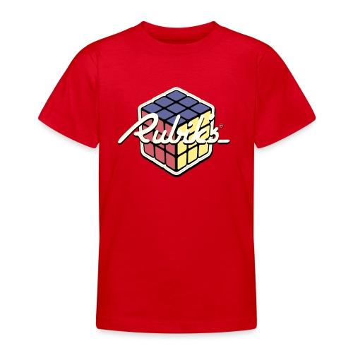 Rubik's Cube Retro Style - Teenage T-Shirt