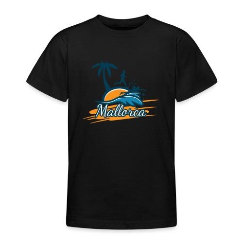 Joggen auf Mallorca - Sport - sportlich - Jogging - Teenager T-Shirt