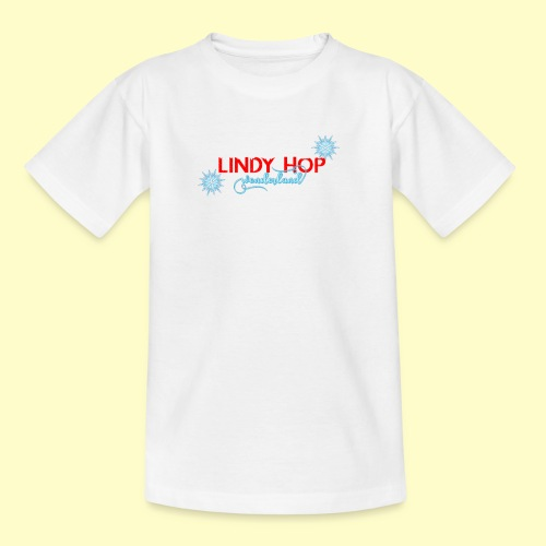 Lindy Hop Wonderland Tanz T-shirt - Teenager T-Shirt